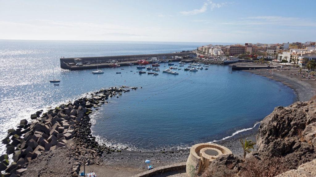 Der Hafen von San Juan auf Teneriffa